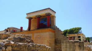 Knossos Palace Crete Greece