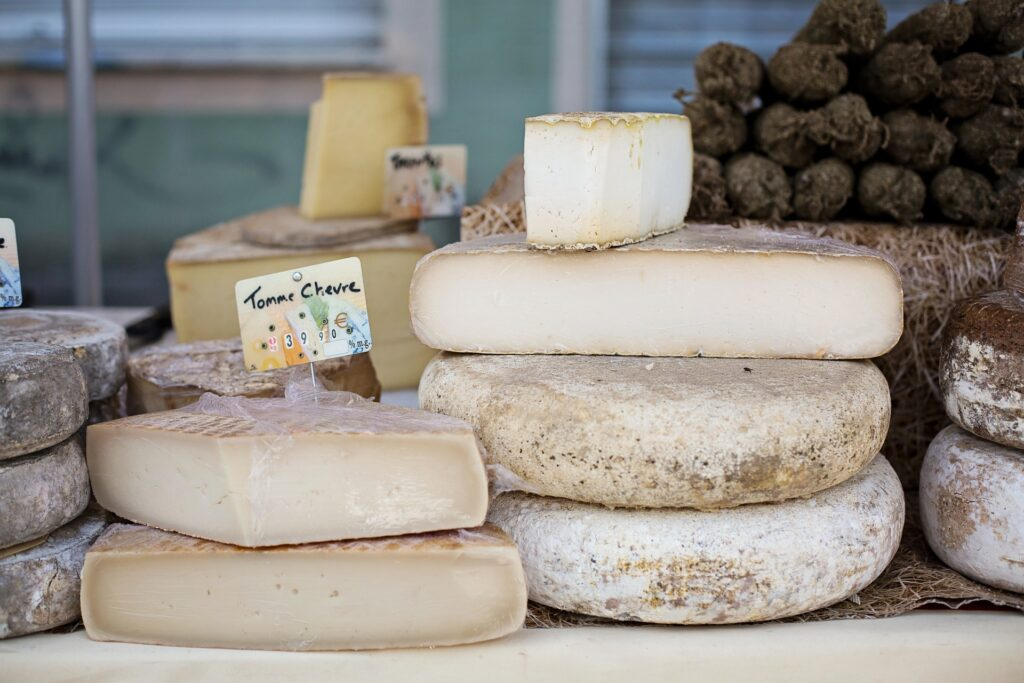 Picture of cheese of France