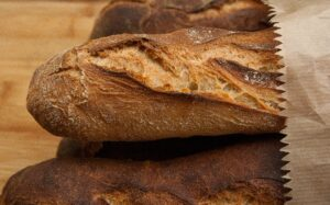 bread, baguettes, crust