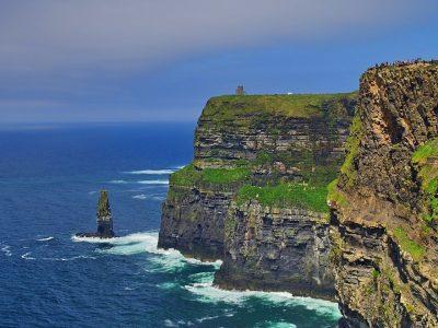 Ireland The Burren Region In County Clare
